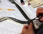 Assembling back neckline © Taylor-Davies Design