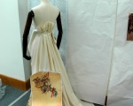 Mockup of gown and wallpaper © Taylor-Davies Design