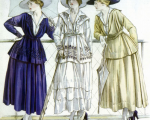 Design influence 1910. From https://commons.wikimedia.org/wiki/File:Chanel_jersey_casual_wear_1917,.jpg