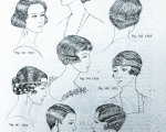 Hairstyles. Womens' Hats, Headdresses and Hairstyles, Georgine de Courtais (1986)