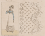 Design influence. Modes et dessins de broderie c. 1818 (via Internet Archive)